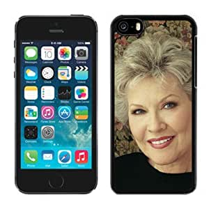Beautiful Designed Cover Case With Patti Page Smile Girl Face Background For iPhone 5C Phone Case