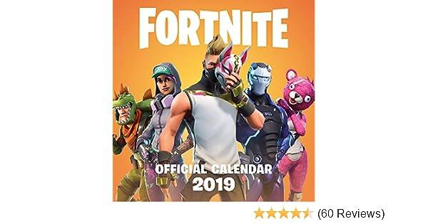 FORTNITE Official 2019 Calendar: Epic Games: 9781472262172 ...