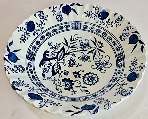 """J & G Meakin England Blue Nordic 8 1/4"""" Vegetable Serving for sale  Delivered anywhere in USA"""