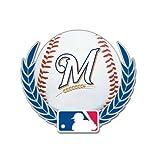 Milwaukee Brewers Baseball logo with MLB Logo Pin