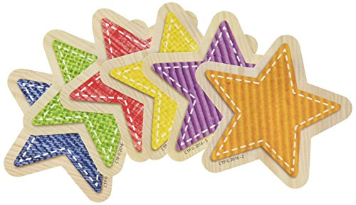 Creative Teaching Press Upcycle Style Stars Cut Outs, 3