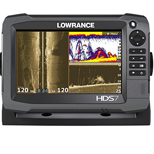 Lowrance HDS-7 Gen3 Fish Finder with Insight USA 83/200 LSS-2 Transducer Fish Finders And Other Electronics LOWRANCE