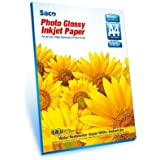 A4 - 130 GSM Photo Glossy Paper - 50 Sheets