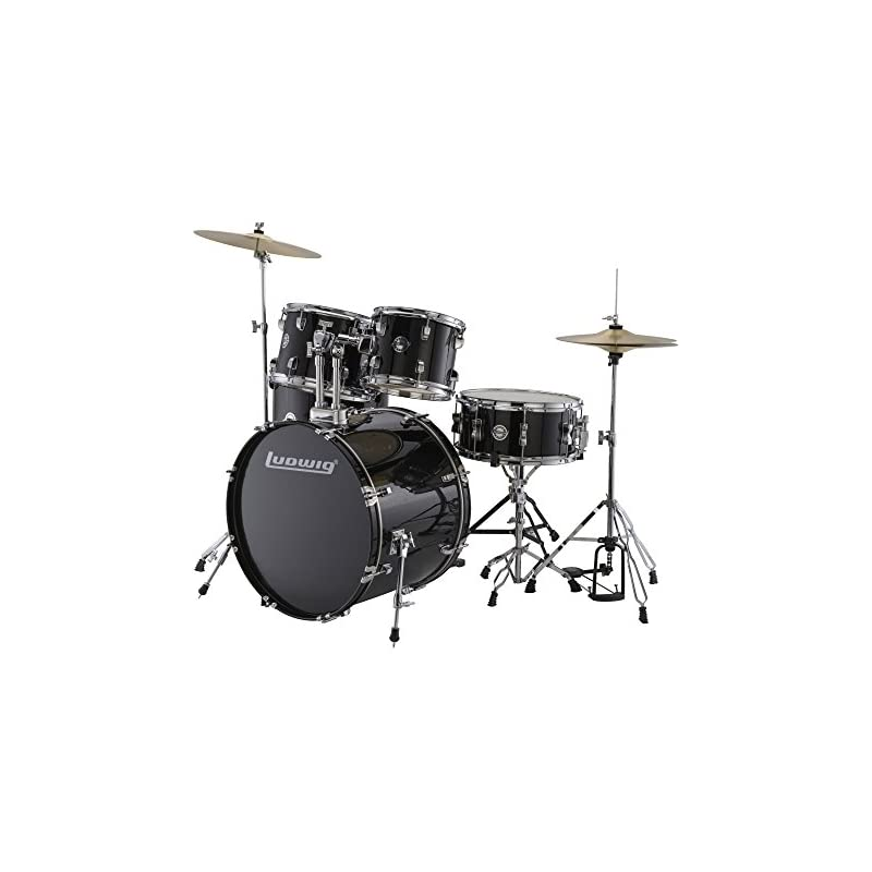 Ludwig LC17011 Accent Fuse 5 PC Drum Set
