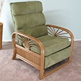 Sundance Rattan Upholstered Furniture Recliner Chair Made in USA