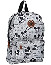 Disney Mickey Mouse rugzak voor kinderen – Never Out of Style – grijs