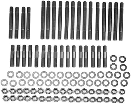 ARP 235-4114 Pro Series Black Oxide 6-Point Cylinder Head Stud Kit for Big Block Chevy Gen V//VI with Brodix//Canfield Head