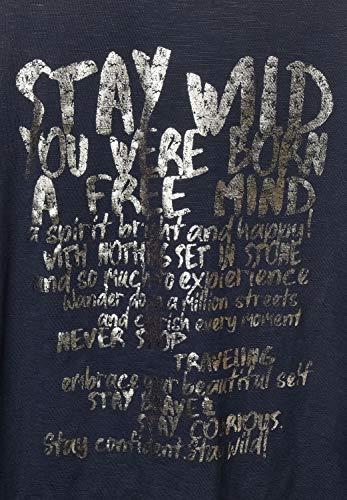 Cecil Damen T-Shirt mit Schriftzug