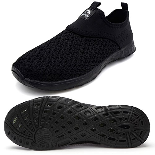 - eyeones Men's Women's Lightweight Quick Drying Mesh Aqua Slip-on Water Shoes Perfect Match for Waterproof Phone Case
