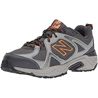 New Balance Men's 481 V3 Trail Running Shoe, Team Away Grey/Magnet, 11 XW US