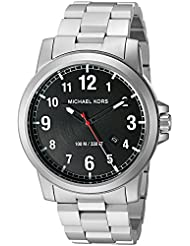 Michael Kors Mens MK8500 Paxton Analog Japanese quartz Silver Watch