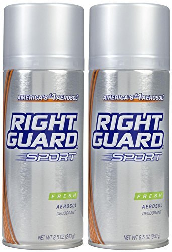 Right Guard Sport Aerosol Deodorant, Fresh, 8.5 oz, 2 pk