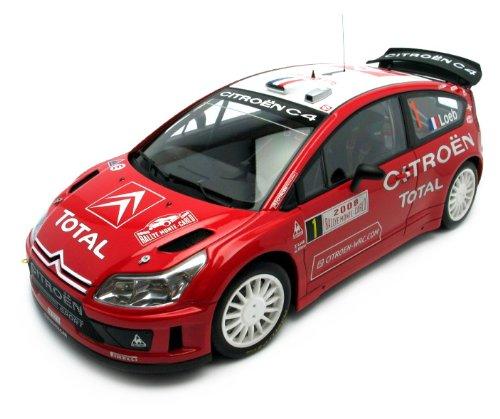 AUTOart – 80838 – Fahrzeug Miniatur – Citroen C4 WRC – Winner Monte Carlo 08 – Maßstab 1/18
