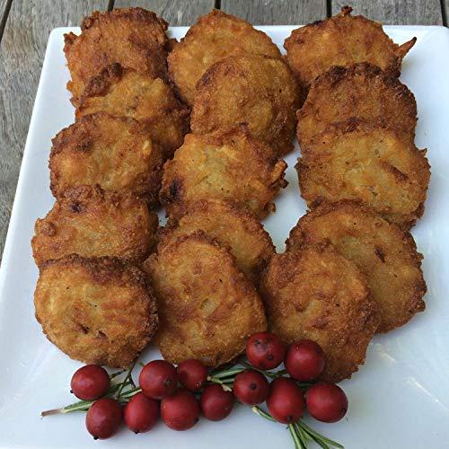 Linda's Gourmet Latkes Bite Size 48 Latkes, Original Potato Flavor, 16.8 ()