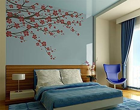 Poster Murali Per Camere Da Letto : Extra large ramo di albero con fiori wall art poster murali fiori