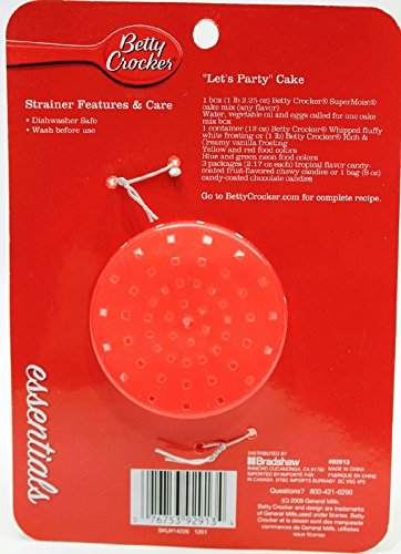 Buy Betty Crocker 5 Inch Plastic Can Strainer (Pack of 2) wholesale