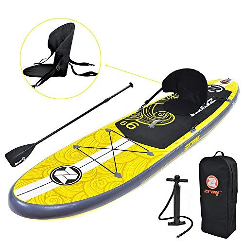 Zray Inflatable Stand Up Paddle Board Review 1