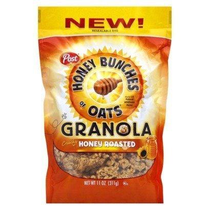 Honey Bunches of Oats Honey Roasted Granola 4 Pack, 11 oz