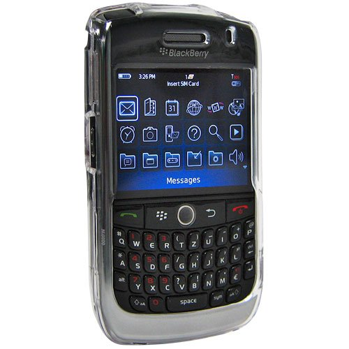 Amzer Snap-On Case for BlackBerry Curve 8900 - Clear