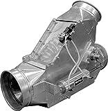 Nordfab 3234-0600-100000 QF SD Auto Diverter Valve, 6'', Galvanized Steel