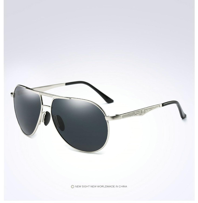 MINCL/Aluminum Magnesium Polarized Aviator Sunglasses UV400 protection Eyewear -yhl