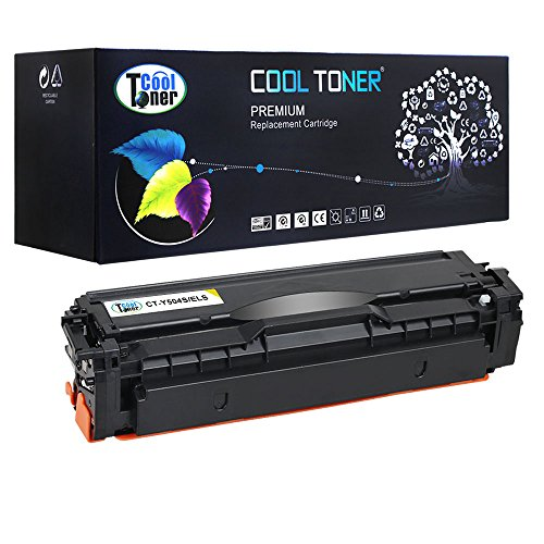 Cool Toner 1 Pack Compatible Samsung CLT-Y504S Yellow Toner Cartridge For Samsung Xpress SL-C1860FW SL-C1810W CLP-415N Printer