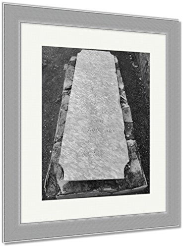 Ashley Framed Prints St Louis Catholic Cemetery New Orleans Louisiana USA, Wall Art Home Decoration, Black/White, 40x34 (frame size), Silver Frame, AG6544558 by Ashley Framed Prints