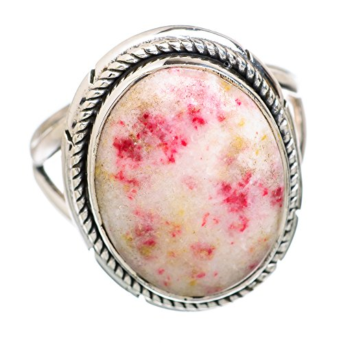 Ana Silver Co Thulite 925 Sterling Silver Ring Size 8 Ring844629