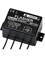Kemo knipperlicht, langzaam 240 V/AC, 110 V/AC M114N
