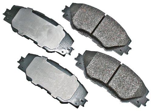 (Akebono ACT1211 ProACT Ultra-Premium Ceramic Brake Pad Set)