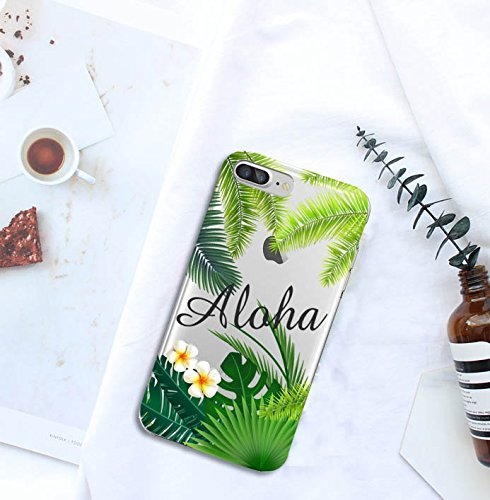 Shark Summer Collection Tropical ALOHA Hawaii Travel TPU case For (Iphone 7 Plus/Iphone 8 PLUS-Palm) Photo #6