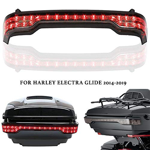 - Harley Tour Pack Lights - Smoke King Tour Pack Pak LED Brake Turn Tail Light for Harley-Davidson Touring Models '14-Up Road Electra Glide Ultra Limited Classic 2014-2019