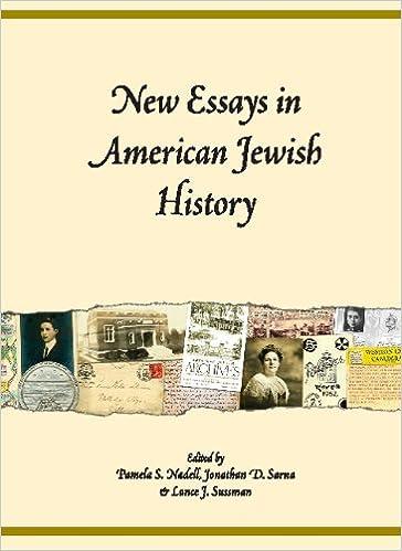 com new essays in american jewish history  com new essays in american jewish history 9781602801486 pamela s nadell jonathan d sarna lance j sussman books