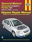 General Motors Chevrolet Cobalt and Pontiac G5 2005 Thru 2009, J. J. Haynes, 1563927748