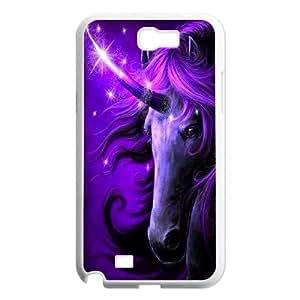Unicorn Unique Design Case for Samsung Galaxy Note 2 N7100, New Fashion Unicorn Case