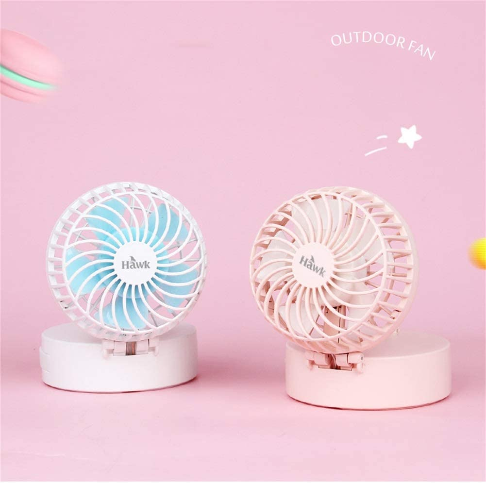 Color : Pink Three Block Wind Speed,7855mm A Portable Cooling Fan