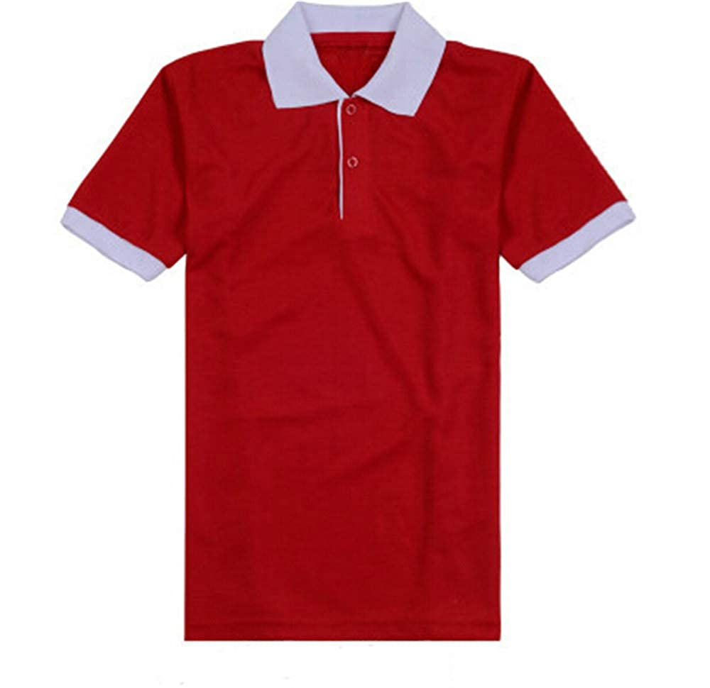New Polo Shirt Ladies Casual Breathable Comfortable Summer Tops Women Students Girls Short Sleeve