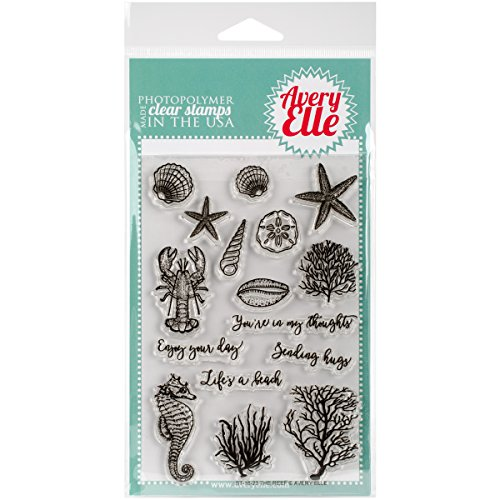 Avery Elle Clear Stamp - The Reef