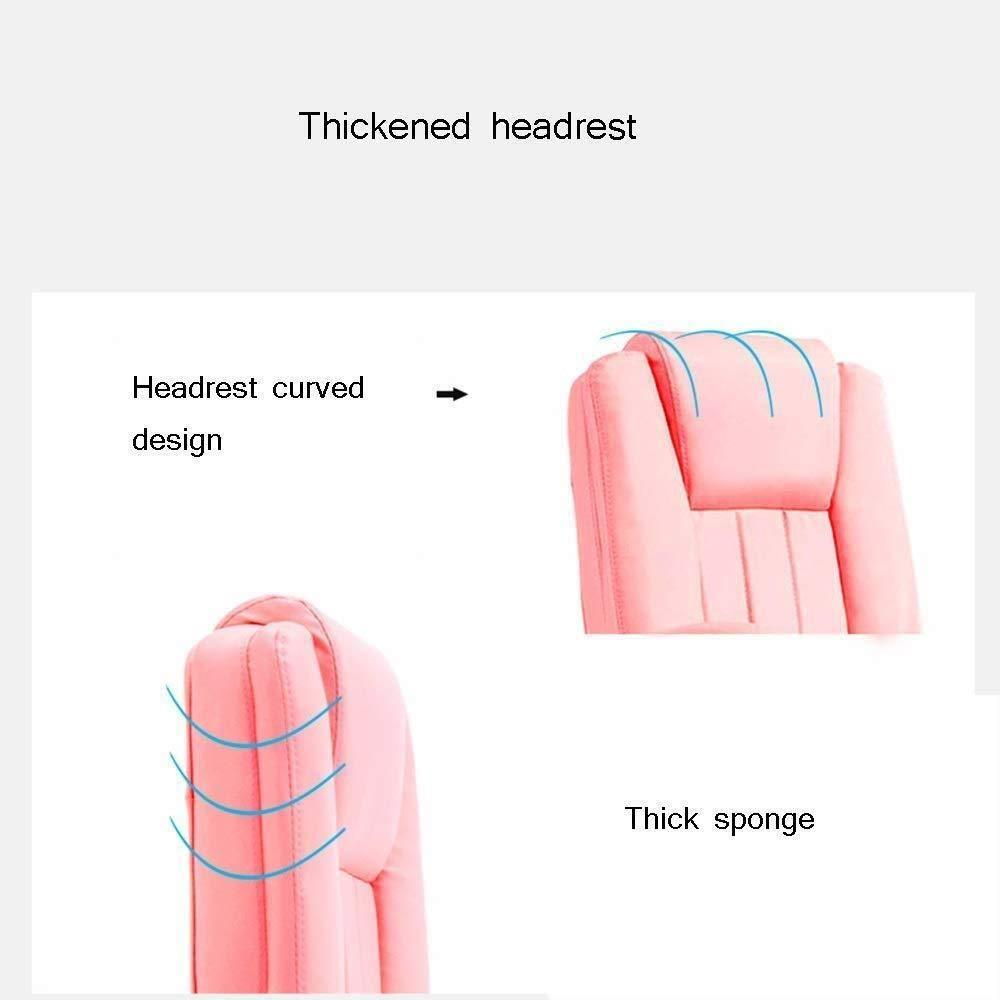 Barstolar Xiuyun kontorsstol spelstol, höjd justerbar ergonomisk skrivbordsstol med fotstöd datoruppgift stol- 360° svängbar stol 150 ° vilande svängstol (färg: Stil2) style4