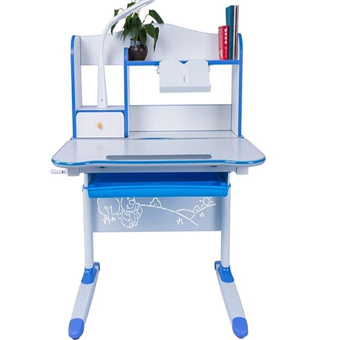 Escritorio para Niños Mesa y silla abatibles para niños Mesa de ...