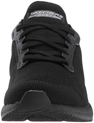 Squad Skechers Slip on Sneaker Frame Photo noir Schwarz Black Damen Bobs qBxwgB4OC