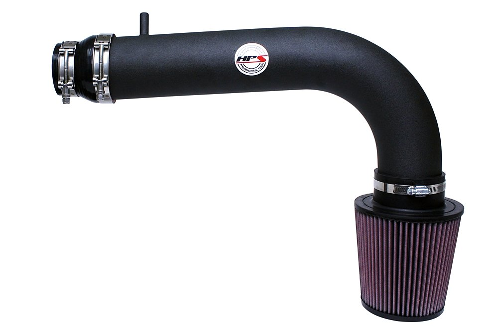 HPS 27-530WB Black Shortram Air Intake Kit Cool Short Ram SRI with K/&N Filter