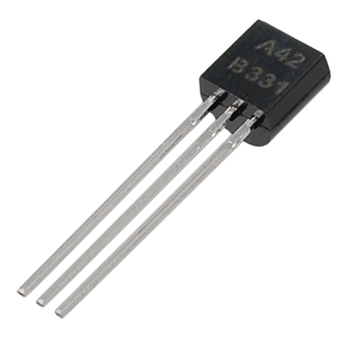 A42 TO-92 Three Pins General Purpose NPN Transistors 50 Pcs Sourcingmap a11102000ux0367