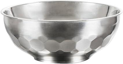 5 cuencos de acero inoxidable de doble capa aislante ...