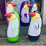 Inflatable Penguins WITH Sand base (black)
