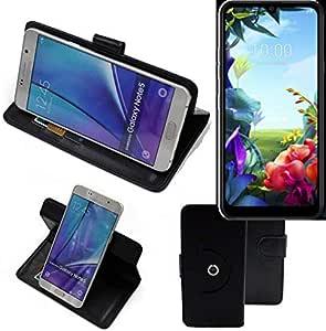 K-S-Trade® 360° Funda Smartphone para LG Electronics K40S, Negro ...