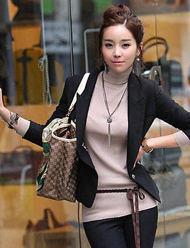 CBIN & HUA abrigo & chaqueta (algodón/poliéster) Informel/trabajo mango 3