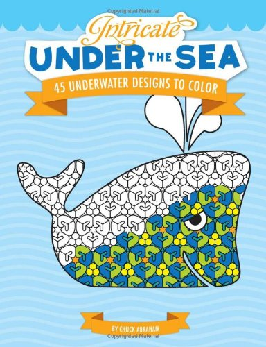 Download Intricate Under the Sea: 45 Underwater Designs to Color PDF