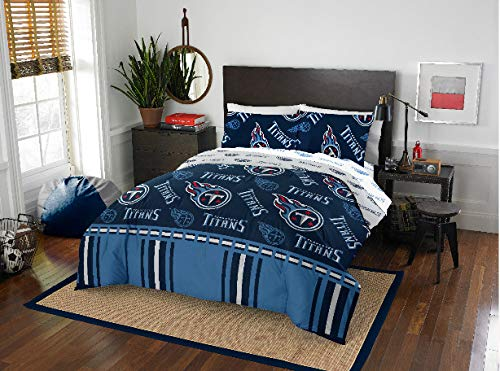 Tennessee Titans NFL Queen Comforter & Sheet Set (5 Piece Bed in A Bag), New! + Homemade Wax Melts