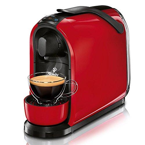 Tchibo Cafissimo Pure Kapselmaschine für Kaffee, Espresso und Caffè Crema, Red